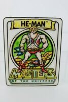 Vintage Motu He-Man plastic wall door hanging plaque Mattel
