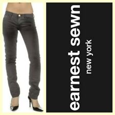 Earnest Sewn $202 'Harlan' greaser black cigarette leg skinny jeans~27