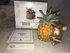 "Charming Tails ""Sweet To The Core"" Dean Griff Mouse Pineapple"