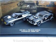 Mad Max 2 Road Warrior Interceptor & enemigo coche película 1/43 Autoart iuop4893 - = -