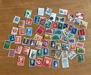 SMALL COLLECTION OF DUTCH POSTAGE STAMPS (USED)