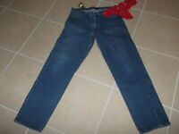 "Army & Navy Men's "" Size 36 x 34 Blue Jeans"