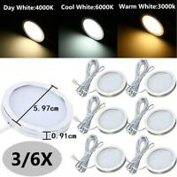 Under Cabinet Cupboard LED Lighting Kit Hardwired Wall Plug in Puck Lights Wired