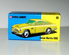 CUSTOM DISPLAY BOX FOR CORGI JUNIORS 22 ASTON MARTIN DB6  - FREE UK POST