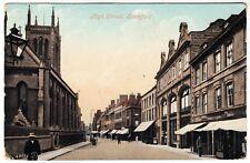 STAMFORD HIGH STREET - Shops etc - 1908 used postcard