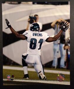 TERRELL OWENS Touchdown Celebration 8X10 ACTION PHOTO Philadelphia Eagles