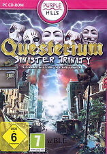 PC CD-ROM + Questerium + Sinister Trinity + Collector's Edition + Win 8