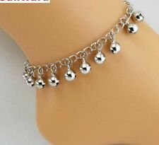 Fashion Bracelet Silver Anklets Women Bells Anklet Foot Jewelry Girl Accessories