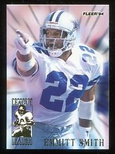 1994 Fleer League Leaders Emmitt Smith #7 Dallas Cowboys