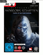 Middle-earth Shadow of Mordor GOTY Steam PC Game key nuevo global