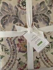 New ListingPottery Barn Ivana Organic Cotton/ Linen King / Cal King Duvet Cover Taupe Nwt