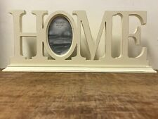 Distressed Cream Wood Shabby Chick Picture Frame Home Photo House Warming Gift