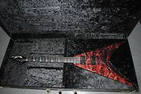 Dean Guitar Megadeth Dave Mustain USA Gears of War Rare #2 Case Used