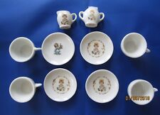 Precious Moments ~4 Pc Set Made In Japan Cups-Saucer-Creamer-Sugar