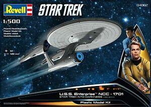 Revell 04882 U.S.S. Star Trek Enterprise NCC-1701 1:500 Scale Plastic Model Kit
