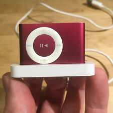 Ipod Shuffle 2nd Gen (Product) Red - 2GB - Very Good Condition - With Dock