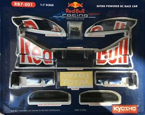 KYOSHO REDBULL RB 7 - 001 FRONT WING IN MASSIVE 1/7 SCALE FACTORY SEALED
