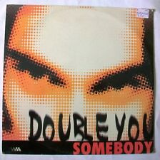 """Double You – Somebody  DWA 97.06  12"""" Italy 1997"""