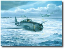 Final Approach to Home by Tom Freeman -TBF Avenger - George H.W. Bush