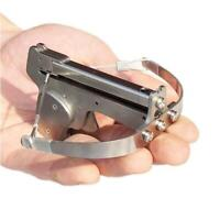 Semiautomatic Stainless Steel Mini Crossbow  1 Bottle of Steel Ball 12 Repeating