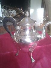 CAFETIERE style Empire, métal argenté, poinçon d'Orfèvre: R. MAUGER 1897- 1904