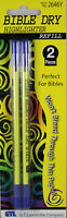 Bible Dry Highlighter 2 Pack YELLOW REFILL Brand NEW No Bleed (Just Refill)