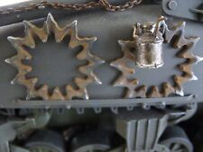 INGRANAGGIO ruota ruota o ruote Sherman F. RC carro armato US Tank Metallo Kit Kit accessori 1/16