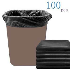 Not Leak Garbage Bags Home Often Used Saving Trash Bags 43x45cm Disposable x100
