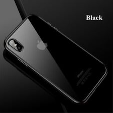 Shockproof Plating Clear Slim Hybrid Bumper Case Cover For iPhone X 8 7 6s Plus