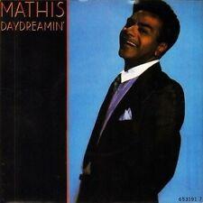 "JOHNNY MATHIS daydreamin' 653191 7 near mint disc uk cbs 1988 7"" PS EX/EX"