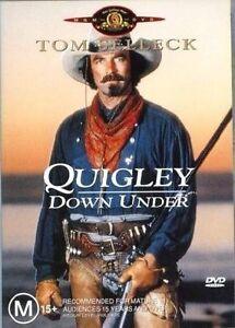 QUIGLEY DOWN UNDER - DVD Tom Selleck Dvd Region 4
