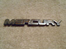 "NOS 1987 1988 1989 MERCURY TRACER TRUNK DECKLID ""MERCURY"" LETTERING EMBLEM NEW"