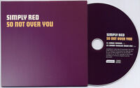 SIMPLY RED So Not Over You 2006 UK 2-track promo CD SRSAM032