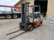New ListingNissan Cugj02E35Pv 7,250 lbs Warehouse Industrial Forklift Lift Truck bidadoo
