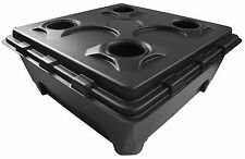 IWS Deep Water Culture DWC Oxy Pot 4 Bubbler Hydroponics System Complete Kit