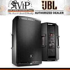 JBL Eon615 Active DJ/Club Powered Speaker 1000W Class-D Amp. w/Bluetooth (PAIR)