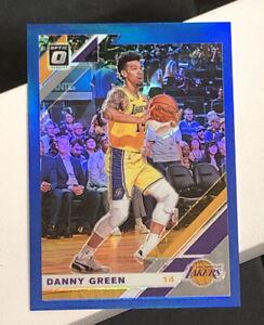 2019-20 Donruss Optic #70 DANNY GREEN Rare BLUE Holo Prizm - Mint- Gem Mint /59