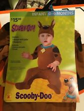 SCOOBY-DOO infant size 0-6 months by Rubie's Baby Halloween NEW Costume #1838
