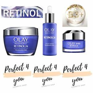 Olay Regenerist Retinol 24 Night Moisturiser, Serum & Eye Cream With Retinol&B3