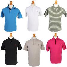 Vintage Branded Polo Shirt Tops Sports MEN Job Lot Wholesale x10