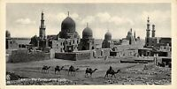 Vintage Egypt Postcard Cairo Tombs of the Califs , Panoramic Bookmark Style BF1