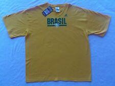 BRAZIL ADIDAS SOCCER JERSEY T-SHIRT XXL