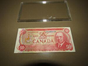 CANADA $50 Dollar Bill 1975 EHC6806144 Circulated Fifty Dollar Bill