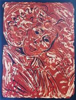 Serigraph by Jorge Soto (New York, 1946). Maria, 1979. Original art signed.