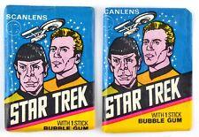 SCANLENS STAR TREK, CAPTAINS LOG COMPLETE SET OF 72 CARDS 1976