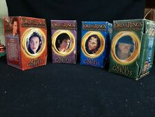 Burger King Lord of the Rings Fellowship of the Ring Glass Goblets 4 Glass Set