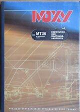 Moxy Muldenkipper MT 36  Bedienungsanleitung