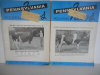 2 Pennsylvania HOLSTEIN NEWS Magazine March / April 1967 Vintage Photos Ads Info