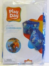 Boys Play Day Inflatable Swimming Armbands (Ages 3-6) BRAND NEW UNOPENED!