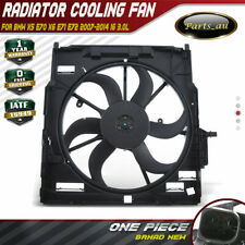 Radiator Thermo fan for BMW X5 E70 X6 E71 E72 420W 17427598739 17427616102